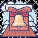 Christmas Holiday Chimney Icon