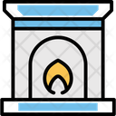 Chimney Fireplace Flue Icon