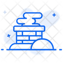 Chimney Smokestack Smoke Funnel Icon