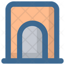 Christmas Chimney Fireplace Icon