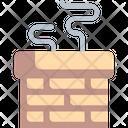 Chimney Winter Warm Icon