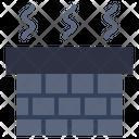 Chimney Smokestack Ventilate Icon