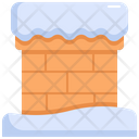 Chimney Fireplace Cold Icon