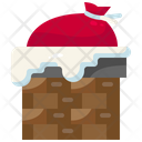 Chimney Christmas Xmas Icon