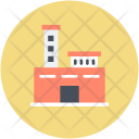 Chimney Factory Plant Icon