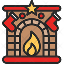 Chimney Factory Fireplace Icon