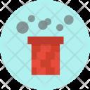 Chimney Smoke Santa Icon