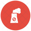 Chimney Factory Polution Icon