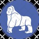 Chimp Gorilla Ape Icon