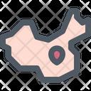 China Map Pin Icon