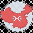 China Corona Coronavirus Icon