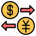 Usa China Currency Icon
