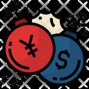 Chinaandustradewar Yuan Dollar Icon