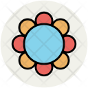 Chinese Flower Decorative Icon