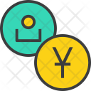 Chinese Yuan User Icon