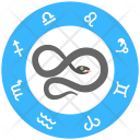 Chinese Snake Signs Icon
