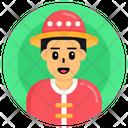 Chinese Boy Icon