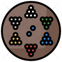 Chinese Checkers Checkers Board Table Games Icon