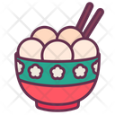 Chinese Dessert Sweet Icon