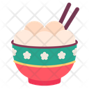Dessert Sweet Chopsticks Icon