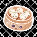 Chinese Dim Sum Cute Icon