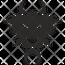 Dragon Mask Head Icon