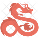 Chinese Dragon Icon