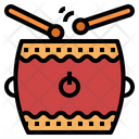 Chinese Drum Icon