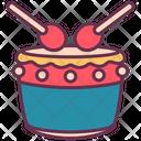 Drum Chinese China Icon