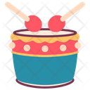 Drum Newyear Tradition Icon
