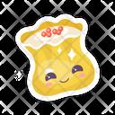 Chinese Dumpling Cute Icon