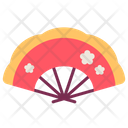 Fan Newyear Flower Icon