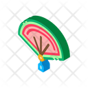 Chinese Open Fan Icon