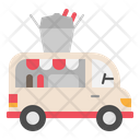 Chinese Food Truck Icon