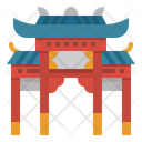 Chinese Gate Icon