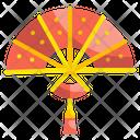 Chinese Hand Fan Fan Wind Icon