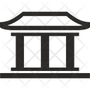 Chinese Architecture House Icon