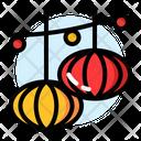 Chinese New Year Lantern Icon