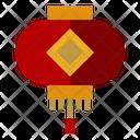 Chinese Lantern Festival Celebration Icon
