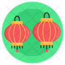 Chinese Lanterns Asian Lanterns Asian Lamps Icon