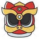 Chinese Lion Face Chinese Lion Lion Dancing Icon