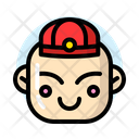 Chinese Little Boy Icon