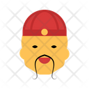Chinese Asian Face Icon