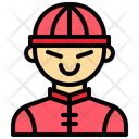 Boy Oriental Chinese Icon