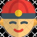 Chinese Man Icon