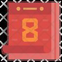 Chinesecalendar Chinesenewyear Calendar Icon