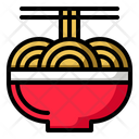 Noodles Bowl Chinese Icon