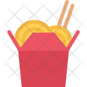Chinese Noodles Cook Icon