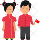Chinese Outfit Chinese Clothing Chinese Dress Icon