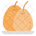 Chinesepear Pear Fruit Icon